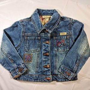 Levi Strauss Embroidered Jacket Toddler Girls 2T